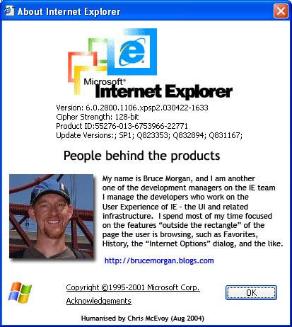 About IE People